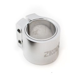 Zkoot ALU Double Clamp Glossy Silver