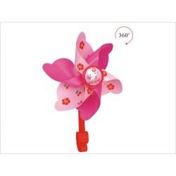 Vrtuľka na riadidlá, ružová