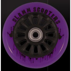 Slamm 100 mm Black/Purple + ABEC 7