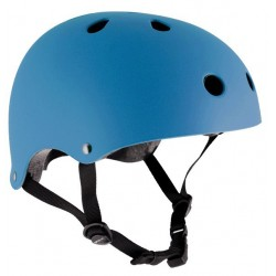 Essentials Matt Blue helmet