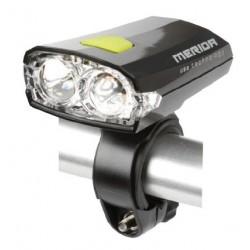 Svetlo HL-MD019 predné 2LED USB čierne